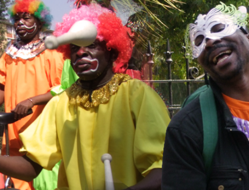 Feast of Clowns brightens the city
