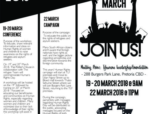 Human Rights Conference 19, 20 & 22 March