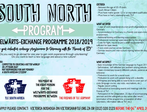 South North Program-Apply today!